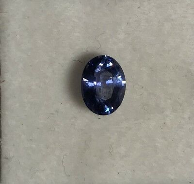 Unheated 1.40 Carats Natural Sri-Lanka Blue Sapphire Oval Cut VVS Gemstone • 1,200$