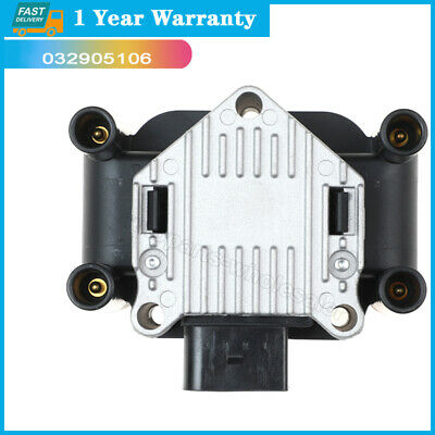$29.98 • Buy 032905106B For 98-01 Volkswagen Beetle Golf Jetta L4 2.0 UF277 Ignition Coil
