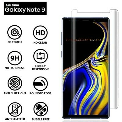 $ CDN6.89 • Buy For Samsung Galaxy Note 9 100% Genuine 5D Tempered Glass Screen Protector Clear