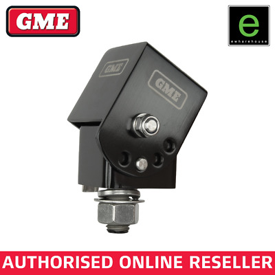 AU116.30 • Buy Gme Black Universal Fold Down Antenna Mounting Bracket Uhf Cb Aerial - Mb042b