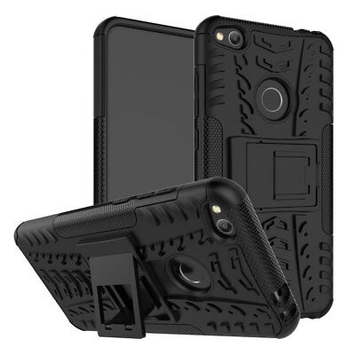 Heavy Duty Shockproof Rugged Bumper Hybrid Armor Case For Huawei P9 P10 P20 P30 • 4.49£