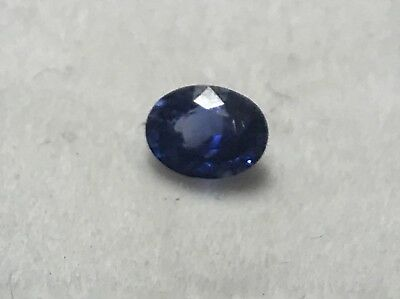 Unheated 1.02 Ct Sri-Lanka ( Ceylon) Blue Sapphire Oval Cut VVS Gemstone • 950$
