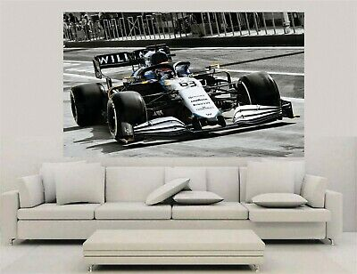 £32.99 • Buy Canvas Wall Art - F1 2021 - George Russell