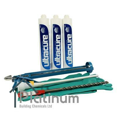 £30 • Buy ULTRACURE Damp Proof Cream Kit (3 X 380ml Kit) | DPC Course Injection Treatment