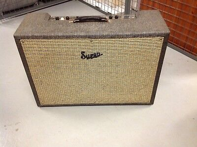 $ CDN1425 • Buy Vintage 1960s SUPRO 1688TN 35W Bass Guitar Amplifier