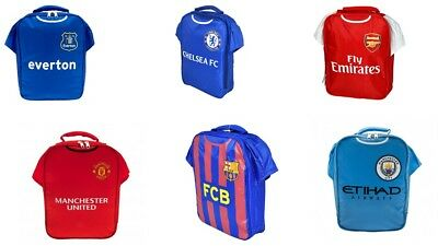 Official Football Club Kit Lunch Bag Sandwich Box Kids School Lunch Box Arsenal  • 14.99£
