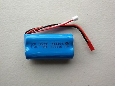 AU29 • Buy Au Store 1500mAh 2S 7.4V Li-ion Battery For RC Helicopter Car Boat Tank