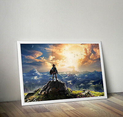 $24.99 • Buy The Legend Of Zelda Breath Of The Wild Poster 24 X 36 Inches FAST USA SHIPPING