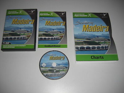 SCENERY MADEIRA Pc Cd Rom Add-On Expansion Microsoft Flight Simulator Sim X FSX • 19.49£