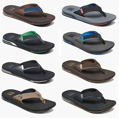 481c6c4acb3c Reef Men s Fanning LOW Water Friendly Bottle Opener Flip Flops • 54.95