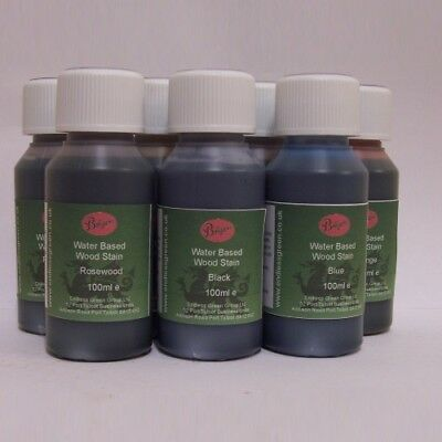 £7.25 • Buy WOOD DYE - Bolgers Water Based Wood Stain - Non Toxic - Choice Of Colours  100ml