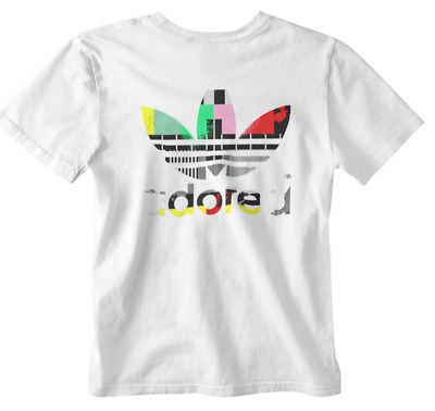 Adored T Shirt Stone Roses 90s Indie Music Madchester Logo Tee Test Pattern Uk • 5.99£