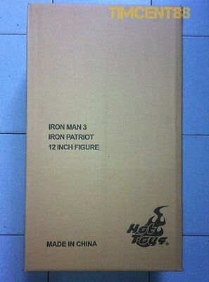AU582.07 • Buy Hot Toys MMS195D01 Iron Man 3 Iron Patriot 1/6 Don Cheadle Diecast Open New