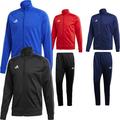 £24.48 • Buy Adidas Mens Core 18 Top Jacket Or Bottoms Pants Tracksuit Football Sports Gym