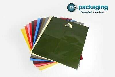 Strong Quality Carrier Bags Varigauge - Various Sizes & Quantities • 3.75£