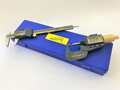 $87.99 • Buy  Digital Electronic Micrometer 0-1 /0.00005  And Caliper 0-6 /0.0005  IP54 SET