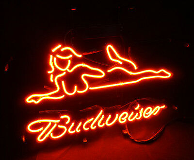 $ CDN155.10 • Buy Sexy Girl Vintage Real Glass Neon Sign Light Boutique Shop Room Wall Artwork