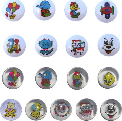15mm Novelty Picture Buttons For Children • 3.60£