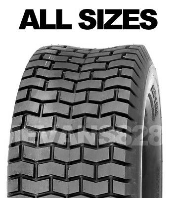£22.95 • Buy All Tyre Sizes | Ride On Lawn Mower Tyres  Garden Tractor Turf Tyres & Tube Sets