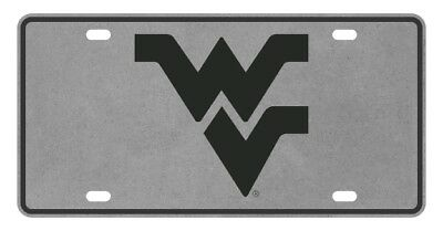 $ CDN44.68 • Buy WVU WEST VIRGINIA Mountaineers Pewter License Plate / Tag