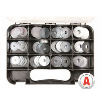 AU39.95 • Buy Gj Works Panel Penny Washers Grab Kit 120 Pieces