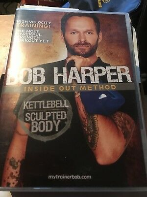 Bob Harper Inside Out Method - Kettlebell Sculpted Body DVD Free P&P UK Only • 25£