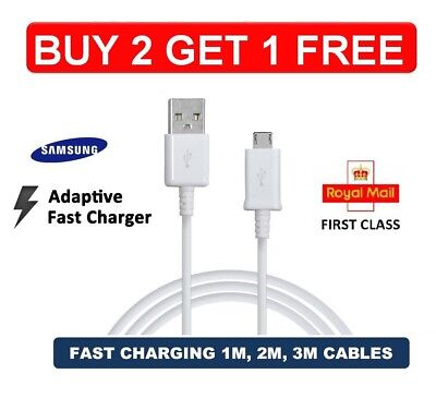$ CDN1.70 • Buy Charging Cable Samsung Galaxy S6 Edge+ S7 Note 4/5 S8 S9 S10 A7 USB Data Cable