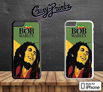 Bob Marley Robert Nesta Reggae Artist Cool Hard Case Cover For IPhone Models A1 • 5.99£
