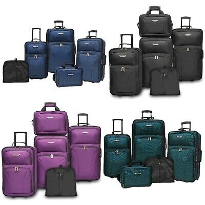 View Details Traveler's Choice Ultimate 5pc Expandable Wheeled Luggage Suitcase Tote Bag Sets • 99.99$