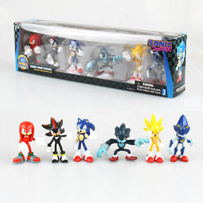 AU34.88 • Buy 6 PCS Sega Sonic The Hedgehog Action Figure Collection PVC Toy Kid Gift IN BOX