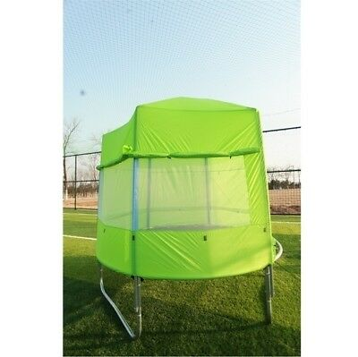 AU218 • Buy New 8 Ft Diameter Trampoline With FREE TENT Spring Mat Net Safety Pad Cover