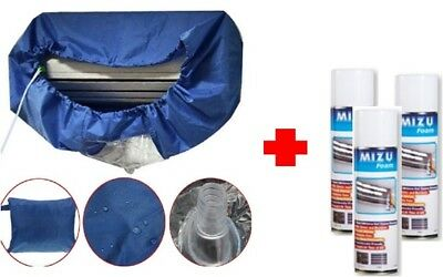 AU153 • Buy BULK SALES: 3 X MIZU FOAM AIR CONDITIONER CLEANER + 1 X Washing Cover(1-1.5HP)