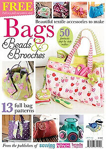 Bags, Beads & Brooches - Sewing & Beading Book / Magazine • 3.50£