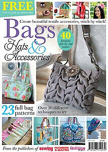 Bags, Hats & Accessories - Sewing & Craft Book / Magazine • 3.50£