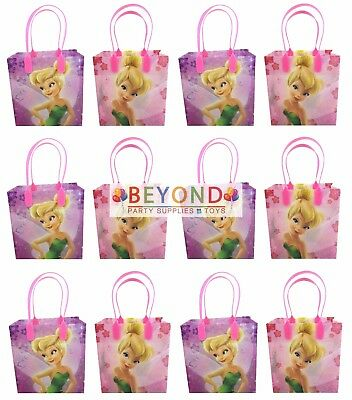 £17.74 • Buy Tinker Bell Goody Bags, Disney Tinkerbell Party Favor Goodie Bags Gift Bags