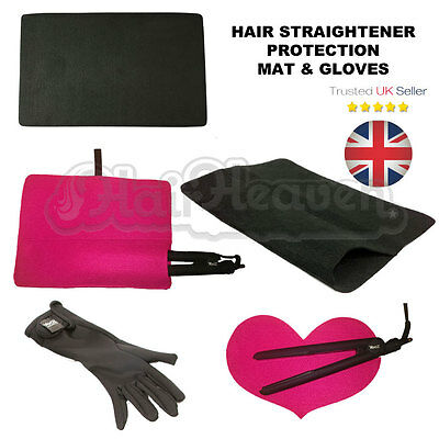 Hair Straightening Heat Proof Mat, Pouch Or Gloves For Straighteners - Choice • 2.99£