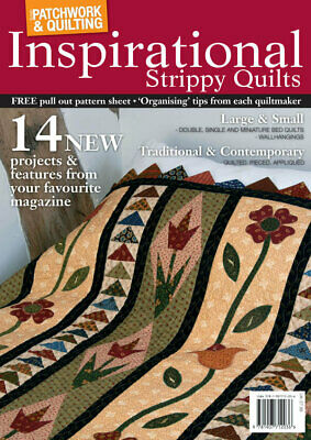 Inspirational Strippy Quilts - Patchwork & Quilting Book • 4.50£