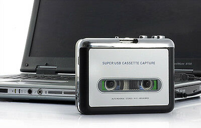 £15.98 • Buy Tape To PC USB Cassette To MP3 Converter Captue Adapter Audio Music Player