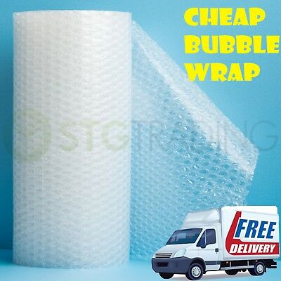 £9.25 • Buy SMALL Bubble Wrap ROLLS X 500mm 300mm 750mm Large 100m 50m 1000mm 10m 1200mm