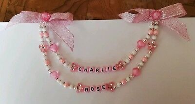 £5 • Buy Personalised Baby Pram Charms, Boys And Girls