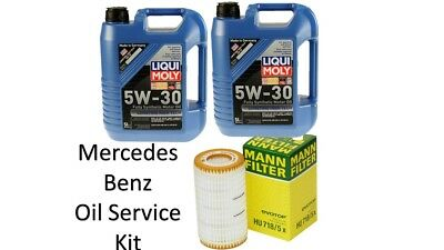 $ CDN100 • Buy Mercedes Benz Oil Filter Mann Filter And LiquiMoly Synthetic Motor Oil 10L 5W-30