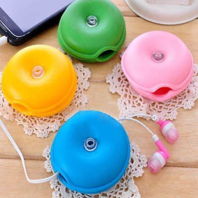 $5.75 • Buy Plastic Lovely Box Winder Turtle Clips Headphone Wire Cable Winder