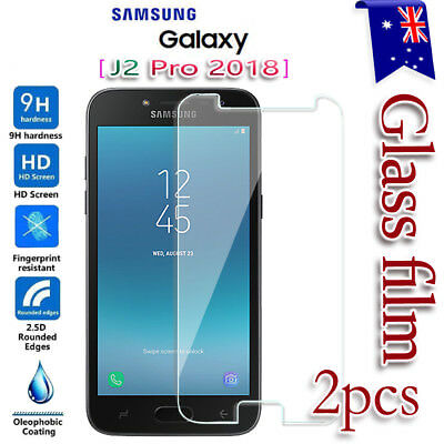 AU2.99 • Buy 2X For Samsung Galaxy J2 Pro 2018 Tempered Glass LCD Screen Protector Film Guard