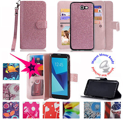 AU13.05 • Buy For Samsung Galaxy J7 2017 SKY PRO Case Wallet Purse Screen Protect Flap Cover