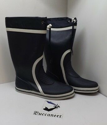 Sailing Boots; Crewsaver And Waveline; Long, Rubber, Deck • 46£