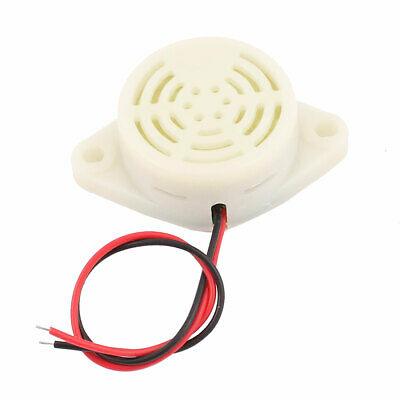 £4.28 • Buy DC 3-24V Wired Industrial Discontinuous Sound Electronic Buzzer White