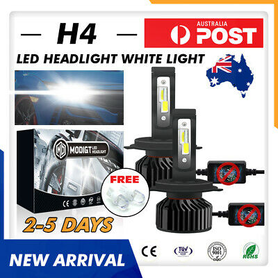 AU29.99 • Buy PHILIPS H4 2680W 320000LM LED Headlight Conversion Globes Bulb Beam Kit 6000K