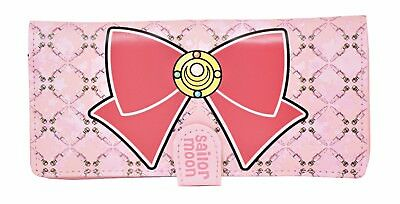 $23.99 • Buy Great Eastern Entertainment Sailor Moon Bow Bifold Wallet, Pink