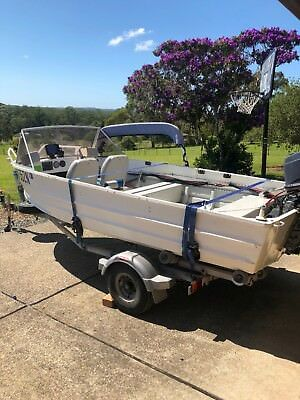AU5800 • Buy 4.5 Quintrex Aluminium Runabout Boat- LOCATED FORSTER