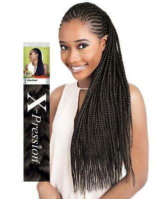 X-pression Xpression Expression Ultra Jumbo Braid Twist Hair Kanekalon Original • 4.99£